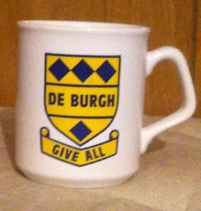 De Burgh Mug